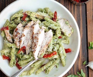 Chicken and pasta image