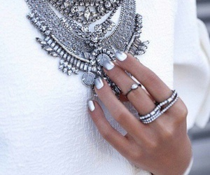 claws, necklace, and polish image