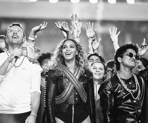 beyoncé, coldplay, and bruno mars image