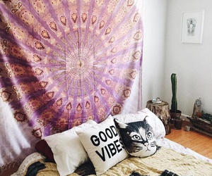 bedroom, boho, and indie image