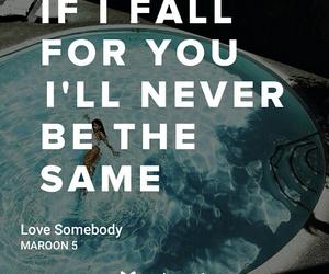 Lyrics, maroon 5, and sad image