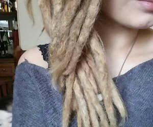 alternative, brown, and dreds image