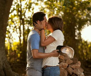 the walking dead, kiss, and couple image