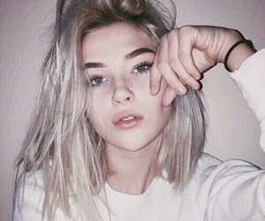 girl, tumblr, and hair image