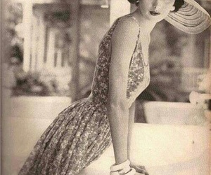 beauty, summer, and vintage image