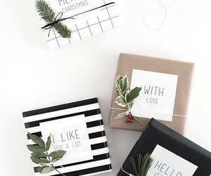gift and gift wrapping image