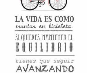bicycle, frases, and life image