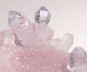 pink, crystal, and pastel image