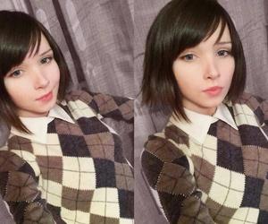 beautiful, katya lischina, and girl image