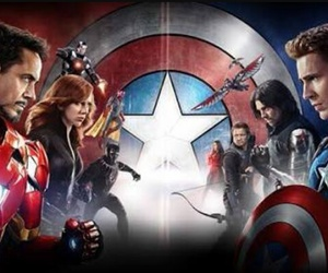 Marvel, captain america, and iron man image