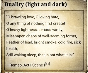 dark, duality, and light image