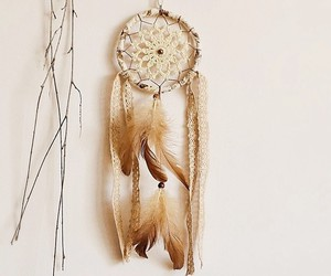 dreamcatcher, handmade, and necklace image