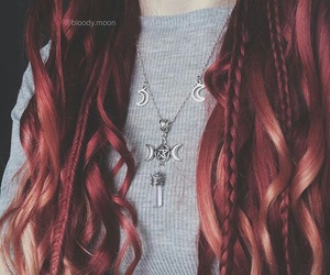 accessories, braided, and necklace image