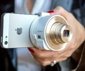 iphone, camera, and apple image