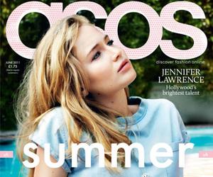 Jennifer Lawrence, summer, and magazine image
