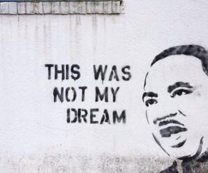 quote, Dream, and graffiti image