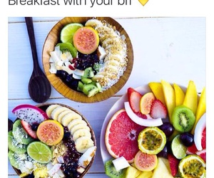 breakfast, food, and healthy eating image