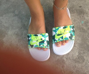 nike and sandals image