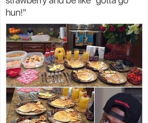 funny, breakfast, and lol image