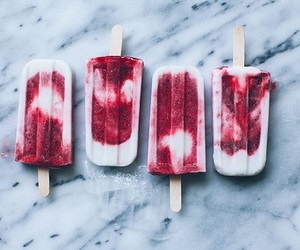 food, ice cream, and popsicle image