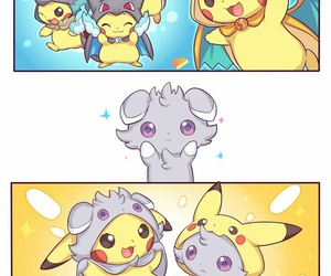 pikachu, pokemon, and psystigri image