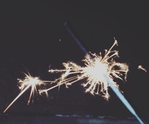 new year and sparkler image