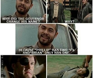 twd, funny, and brian image