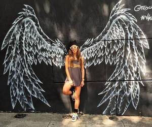 angel, wings, and tumblr image