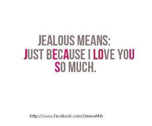 love and jealous image