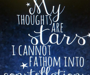 book, constellation, and john green image