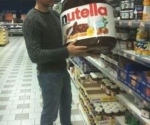 eat, nutella, and shop image