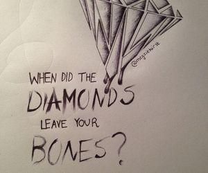 bmth, bones, and diamond image