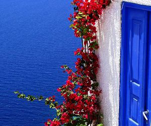 sea, Greece, and travel image