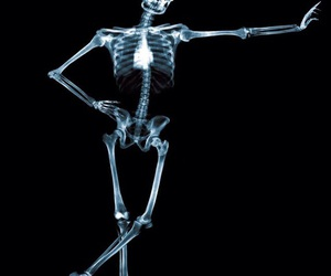 background, bones, and Halloween image