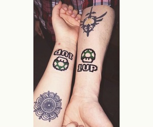 1Up, Relationship, and tattoogoals image