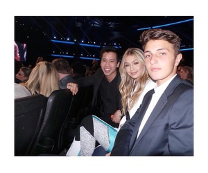gigi hadid, jared eng, and anwar hadid image