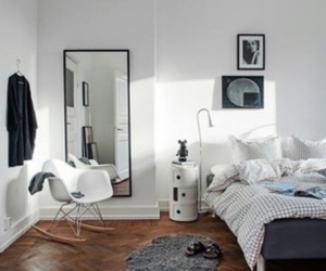 room, bedroom, and simple image
