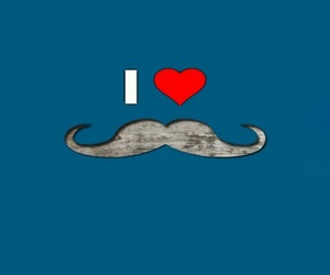 mustache, patterns, and wallpaper image