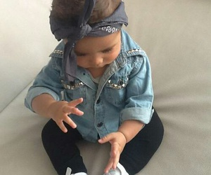 baby, outfit, and baby girl image