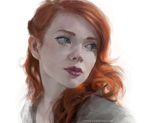 blue eyes, game of thrones, and a song of ice and fire image