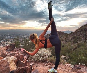 fitness, body, and yoga image