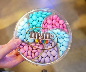 m&m's, food, and m&m image