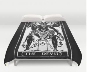 duvet, tarot, and witch image