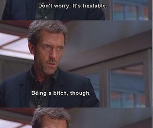 house, funny, and dr house image