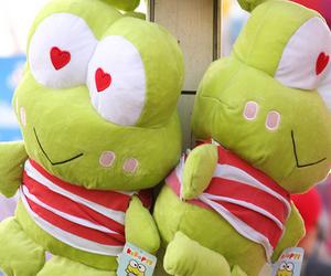 cute, frog, and kawaii image