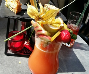 cool, drink, and food image