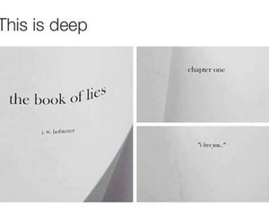 lies, quote, and book image