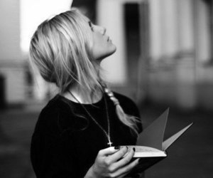 book, girl, and pretty image