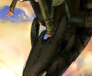 astrid, toothless, and httyd image