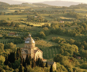 church, italy, and landscape image